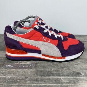 Puma Tx 3 Nylon Running Shoes Blackberry-Cherry